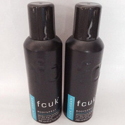 FCUK Men URBAN Deodorising Body Spray 200ml ~ Pack of 2