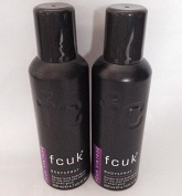 FCUK Men Deodorising Body Spray VINTAGE 200ml ~ Pack of 2