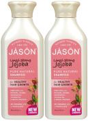 JASON NATURAL PRODUCTS SHAMPOO,NATURAL JOJOBA, 16 FZ