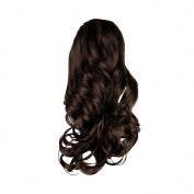 I & K 46cm 0262 Shoulder Length Hair Piece Layered Ponytail Extension Palm Clip