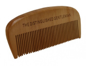 Wooden Beard Comb - Made From Pear Wood - For A Tangle Free Beard - Great Piece Of Beard Grooming Kit - Use With The Distinguished Gentleman Best Beard Oil - Keep Your Beard Healthy And Well Maintained - Perfect Gift For Men - Male Grooming Product - C ..