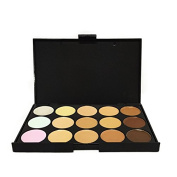 Miss Pouty 15 Shades Colour Contouring Contour Concealer Makeup Palette Kit Make Up Set