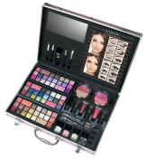 TCW Colour Perfection Beauty Traveller Cosmtic Case, Pink