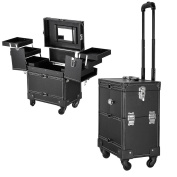 New Vanity Trolley case, vanity case, cosmetic case with mirror 51 X 37 X 24 cm