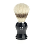 hjm - MÜHLE shaving brush, pure bristle, handle material plastic black