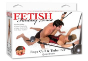 Fetish Fantasy Rope Cuff and Tether Set Fetish Fantasy Rope Cuff and Tether Set