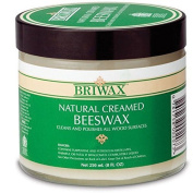 Natural Creamed Beeswax, 240ml Briwax