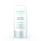 Dr. Christine Schrammek Clear Skin Silver Fluid 50 ml Strong Formula for Blemished Skin with Microsilver