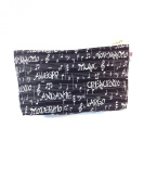 Kids Cotton Wash Bag - Musical Notes