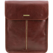 Tuscany Leather WALLET Case-Exclusive for Men Brown Leather
