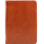 Tuscany Leather-Luigi XIV-document Holder Leather with Zip Fastening-Men-Honey