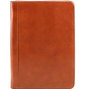 Tuscany Leather-Luigi XIV-document Holder Leather with Zip Fastening-Men-Honey