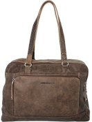 Arthur & Aston Messenger Arthur and Aston leather shoulder tote ref_ast36150-b-marron