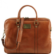 Tuscany Leather Honey Leather Briefcase -