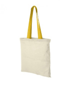 3 Pack Nevada Natural Tote Bag Shopper in 6 Colours