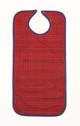 NRS Healthcare Clothing Protector/Bib Medium Length Red