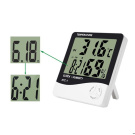 LCD Digital Temperature Humidity Metre Thermometer Household Clock