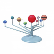 F-Fook Children's Educational DIY Toys Nine Planets Science Solar System Planetarium Model Teaching Aids