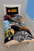 Character world Lego Star Wars Space Single Panel Duvet Set