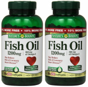 Nature's Bounty Fish Oil 1200 Mg. 400 Softgels