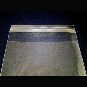 2 X 100 Pcs 4x6 Clear Resealable Cello / Cellophane Bags Good for Bakery, Candle, Soap, Cookie
