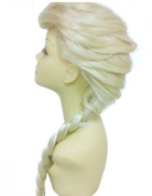 Women's Braids Prestyled Party Costume Cosplay Wigs 70cm Long Hairpiece