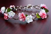 Bridal Flower Crown Floral Crown Wedding Wreath Boho Garland