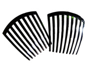 FRENCH TWIST HAIR COMB 9 THOOTH IT DELUXE 2 PCS.
