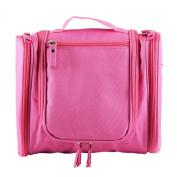 Benair Travel Kit Organiser Bathroom Storage Cosmetic Bag Toiletry Bag Pink