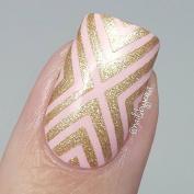 X-pattern Stencils for Nails, Nail Stickers, Nail Art, Nail Vinyls - Large