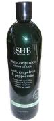 Om She Pure Organics Shower Gel - Basil, Grapefruit & Peppermint