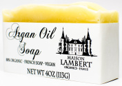 Maison Lambert Argan Oil Soap - Face Soap - Handmade Soap - Luxury Soap - Aloe Vera Soap - All Natural Soap - Lavender Soap - Moisturising Soap - 120ml