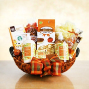 Pumpkin Spice Spa Gift Basket | Bath and Body Gift for Autumn Occasions
