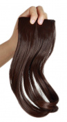 Sexybaby 30G 2 Clips Synthetic Fibre Clip-in Side Swept Bangs Extension Hair