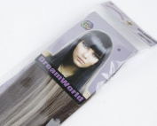 Dreamworld®46cm 7pcs Fashional Clips in Remy Human Hair Extensions Mix Colour #2/613 Colour for Women Beauty. 70g