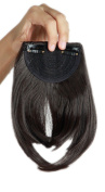 Sexybaby 2 Clips 30G Synthetic Hair Extensions Clip-in Front Neat Bangs