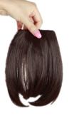 Sexybaby 2 Clips 30G Synthetic Clip in Extension Hairpieces Front Neat Bangs