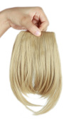 Sexybaby 2 Clips 30G Synthetic Clip in Hairpieces Extensions Front Neat Bangs