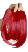 Sexybaby 2 Clips 30G Synthetic Fibre Clip-in Extension Hair Front Neat Bangs