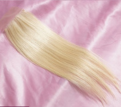 1 Piece Straight Swiss Lace Closure (4*4) Free Part Blonde Lace Closure 100% Real Human Hair Colour #613