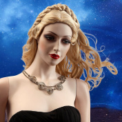. Nawomi Wig 100% Kanekalon Woman Long Golden Wave Wig ,Female Long Hair Wig 2149