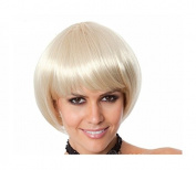 Fashion Kingdom Short Straight Bob Style With Bangs Cosplay Wig for Women