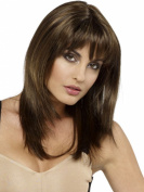 RainbowWigs Sexy Fantasy Women Long Medium Brown Straight Wig for Women