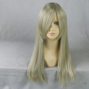 chibits Eruda Light Golden 60CM Long Cosplay Wig + Free Wig Cap