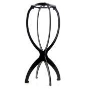 ASX Design Folding Stable Durable Wig Hair Hat Cap Holder Stand Holder Rack Display Tool - Black
