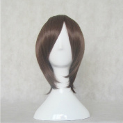 Rozen Maiden Souseiseki Brown Short Cosplay Costume Wig + Free Wig Cap