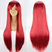 Ecvtop Women's Beauty 80cm Anime Costume Long Straight Cosplay Wig Party Wig