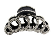 JCPeniel Elegant Style Large Fancy Good Quality Rhinestones Claw Clip Jaw Clips For Thick Hair