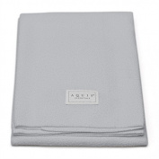 Aquis Lisse Crepe Microfiber Professional Long Hair Drying Towel (48cm x 110cm ) - Light Grey