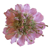 Scabiosa Artificial Flower Hair Clip/Pin Brooch